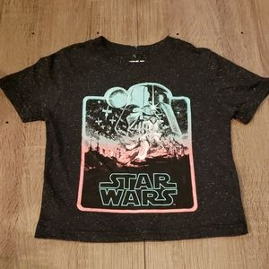 $4 w/ bundle! Kids Star Wars SpeckledBlack Tee
